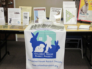 Columbus House Rabbit Society Booth